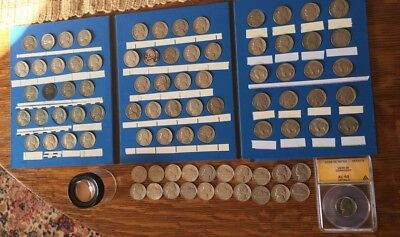 """85 Coin Nickel Collection w/Buffalo """"V""""and Jefferson Nickels+Bonus"""