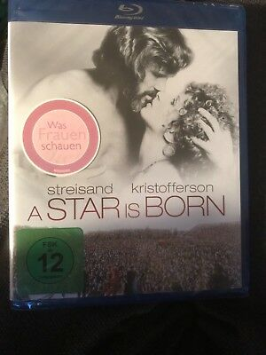 A STAR IS BORN (Region Free Blu-ray) Barbra Streisand Kris Kristofferson NEW
