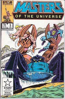 Masters Of The Universe (1986-88) #5 Star Comics Vf /1530/