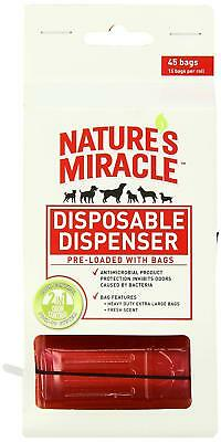 Nature's Miracle 6x45 Count Waste Bag Dispenser with Pick-Up Bags Hydrant Shape!
