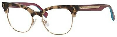 a065ca2dffb Authentic Fendi FF 0163 VJG Black And Gold Plastic Cat-Eye Eyeglasses 51mm.   175.61 Buy It Now 29d 4h. See Details. NEW Fendi FD Ff0163 Eyeglasses 0VHB  ...