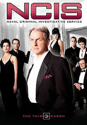 NCIS - The Complete Third Season (DVD, 2007, 6-Disc Set) New & Factory Sealed!