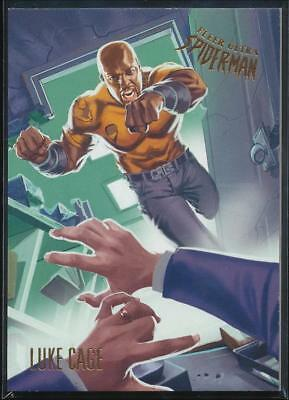 2017 Fleer Ultra Spider-Man Trading Card #27 Luke Cage