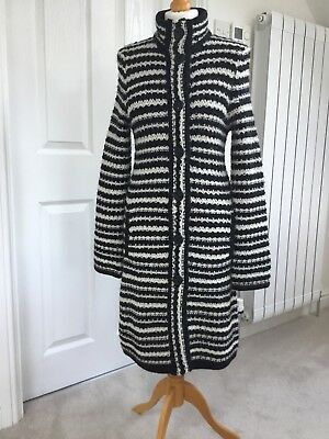 Knitted Coat by Collection at Debenhams Size 10