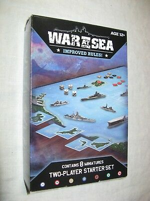 War at Sea Starter Set NEW Axis & Allies naval miniatures Gale Force Nine 2010