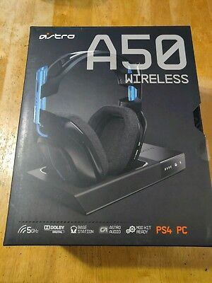 Astro Gaming A50 Wireless Headset + Base Station for PlayStation 4 - Black