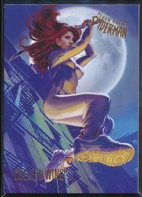 2017 Fleer Ultra Spider-Man Trading Card #72 Colleen Wing