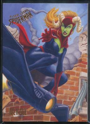 2017 Fleer Ultra Spider-Man Trading Card #74 Menace