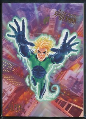 2017 Fleer Ultra Spider-Man Trading Card #80 Alpha