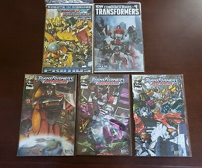 Transformers Armada and others COMIC  Lot of 5 Comics  IDW Annual and more