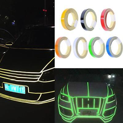 Car Truck Reflective Safety Warning Conspicuity Roll-Tape Film Sticker 1cm*5m