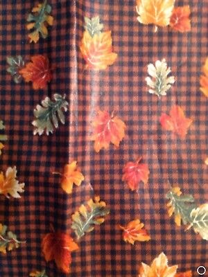 Longaberger Set of 2 Fabric Napkins - Fall Gingham
