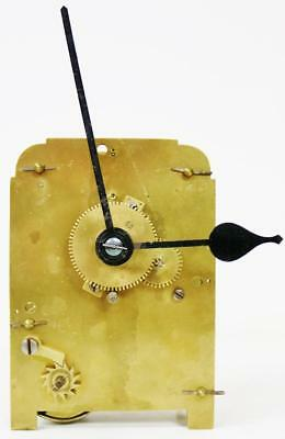 Antique 19thc English Single Fusee Wire Driven Wall Clock Movement & Hands