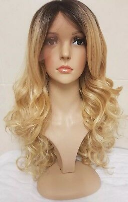 Silk Based Swiss Lace Human Hair Wig Hand Knotted Perm Bleach
