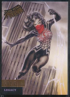 2017 Fleer Ultra Spider-Man Legacy Trading Card #L11 Silk