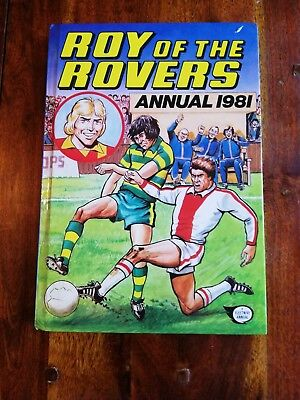 Roy Of The Rovers 1981 Football Annual