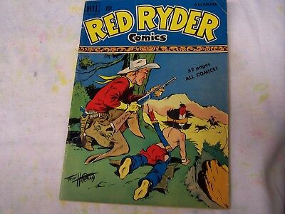Dell Comics RED RYDER COMICS #73 VERY GOOD-1949, Complete