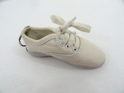 """KEDS Sneakers White Shoe Keychain Canvas Original 3.5"""""""