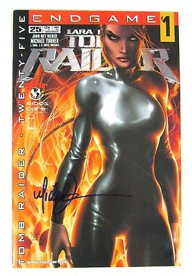 Tomb Raider #25 Signed Michael Turner Top Cow Image Comics