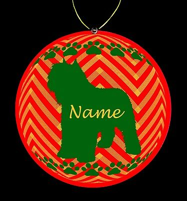 Bouvier Des Flandres Dog Breed Personalized Christmas Ornament
