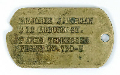 WWII Soldier's Military Dog Tag Next of Kin Named - Paris, Tennessee