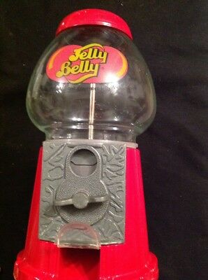 Jelly Belly -Jelly Bean Candy Dispenser. Quarter Coin Slot-😎👍