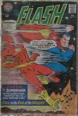 1) FLASH#175 SUPERMAN race 1967 classic SEE SCANS/ affordable AS-IS
