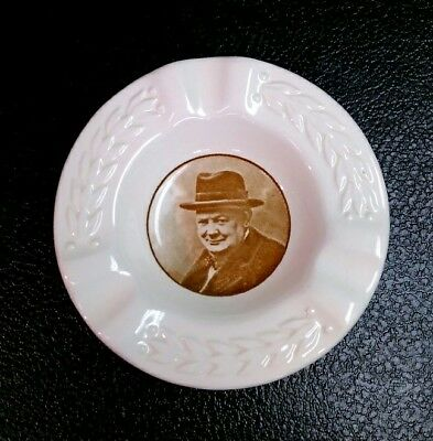 """Royal Doulton England Sir Winston Churchill - """"this Was Their Finest Hour"""""""