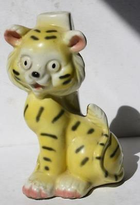 Tiger Figure Heavy Ceramic Lamp Mold Cartoon-Comic Style Child's Room Lamp Mold