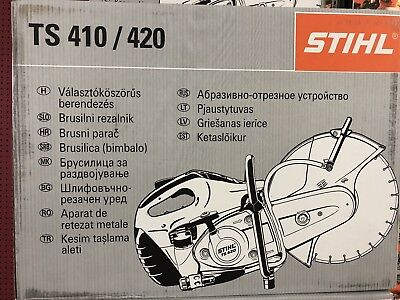 New Stihl Ts420  Concrete Cut Off Saw Water Kit New New