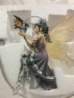 """The DRAGONSITE Hand Crafted Fairy """"LITTLE DRAGON"""" By: Nene Thomas/ Brand-new/"""