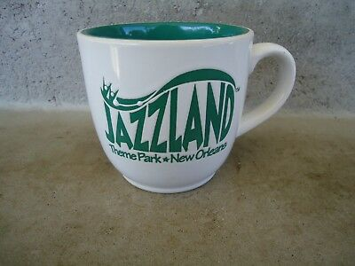 "Vintage ""jazzland"" New Orleans  La Louisiana Theme Park  Coffee Mug"