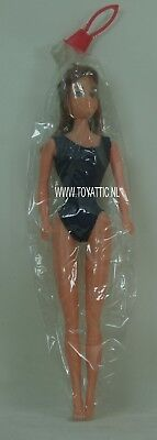 Barbie sized clone doll with long brown hair from '70's new in bag