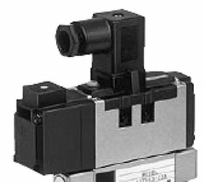 SMC Corporation VS7-6-FG-S-3ZM Single Solenoid Air Pneumatic Valve, 4/5 Port