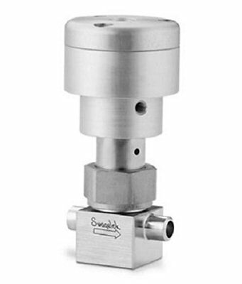 Swagelok SS-4BK-TW-1O Stainless Steel Bellows Sealed Valve, Gasketed, PCTFE Stem