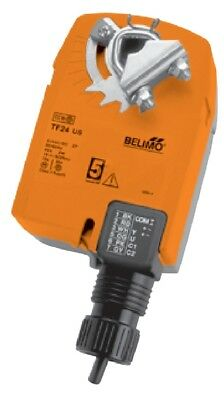 Belimo TF24 US Damper Actuator, Spring Return Fail-Safe, On/Off Control, 24V