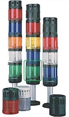 Allen-Bradley 855T-B24TL3 Control Tower Stack Light, 70mm, 24VAC/DC, Green, LED