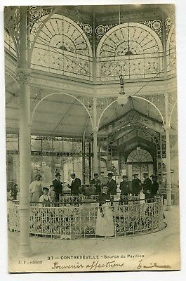 CPA - Carte Postale - France - Contrexeville - Source du Pavillon - 1904 (SV6299