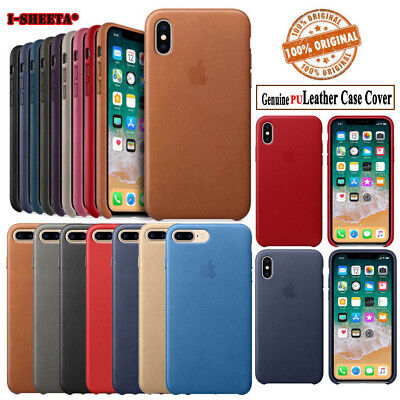 OEM Original Genuine PU Leather Case Cover Defender For Apple iPhone XS Max XR