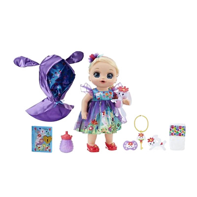 Baby Forest Alive Once Upon Tales Emma Blonde Straight Hair Doll New Toy Gi