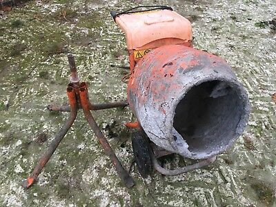 Electric Cement Mixer Construction DIY Concrete Build Belle Minimix 150