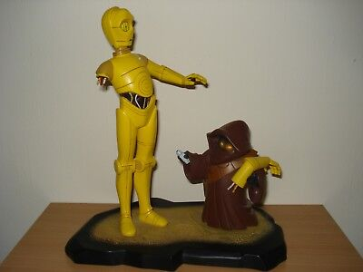 STAR WARS Gentle Giant Animated C-3PO Limited Edition Maquette++Selten++