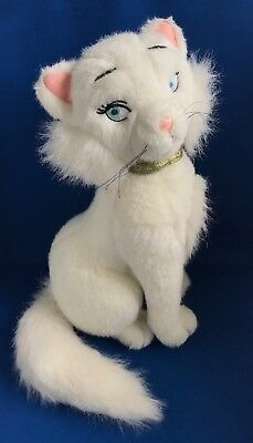 VINTAGE RARE Plush DUCHESS THE ARISTOCATS Soft Toy DISNEY STORE White Mama Cat