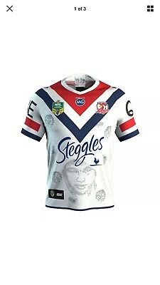 Sydney Roosters Indigenous Shirt 2018 XL BNWT ISC NRL