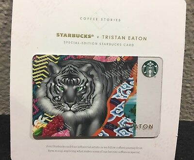 Starbucks Gift Card / No Value / Tristan Eaton Special Edition