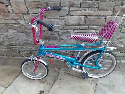 Raleigh Chopper Bike Mark 3 The Hot One Turquoise and Pink