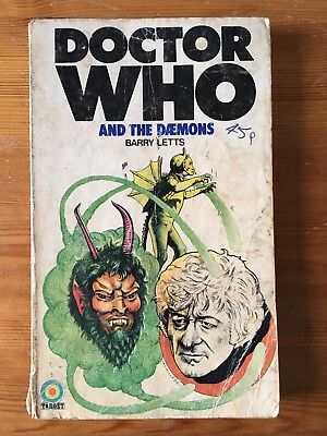Doctor Who and the Daemons - Target 15 - 1st First Edition READING COPY