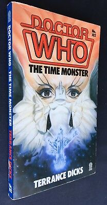 Doctor Who The Time Monster - 1st Edition - Target 102 - Terrence Dicks