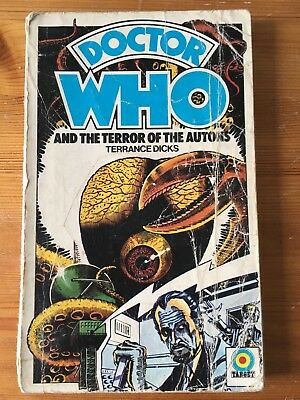 Doctor Who and the Terror Of The Autons - 1st ed Target 63 - READING COPY