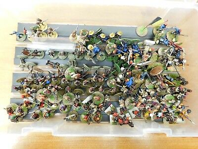 Lot of Painted 28mm Colonial African figures